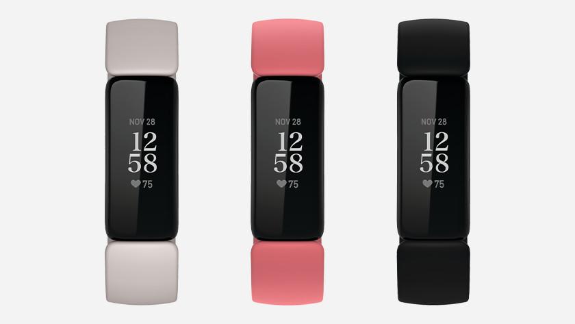 Fitbit Inspire 2 kleuren geen fysieke knop
