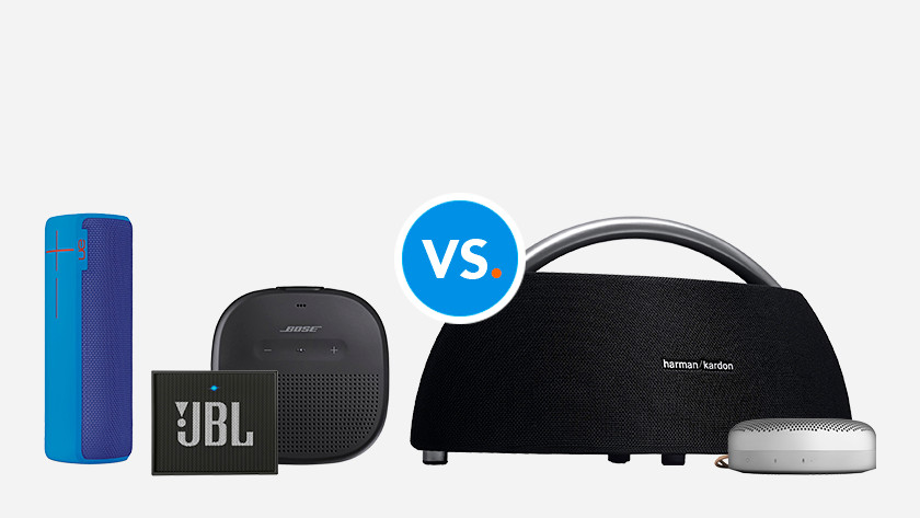 Vergelijkingen bluetooth speakers