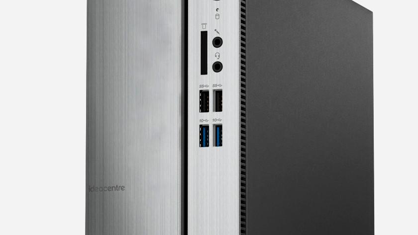 USB ports on a desktop