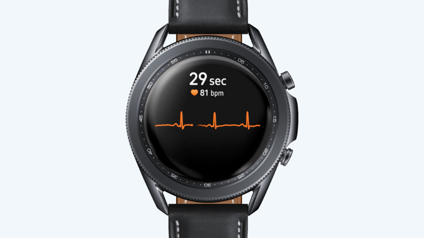 ECG hartslagmeting Samsung Galaxy Watch3