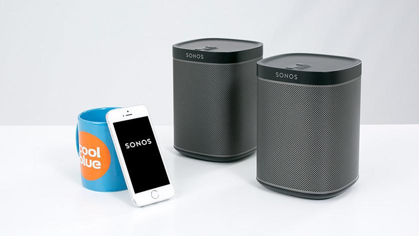 Sonos speakers with app