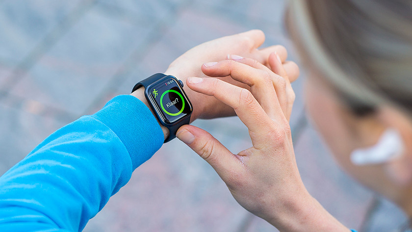 Apple Watch tested on the wrist