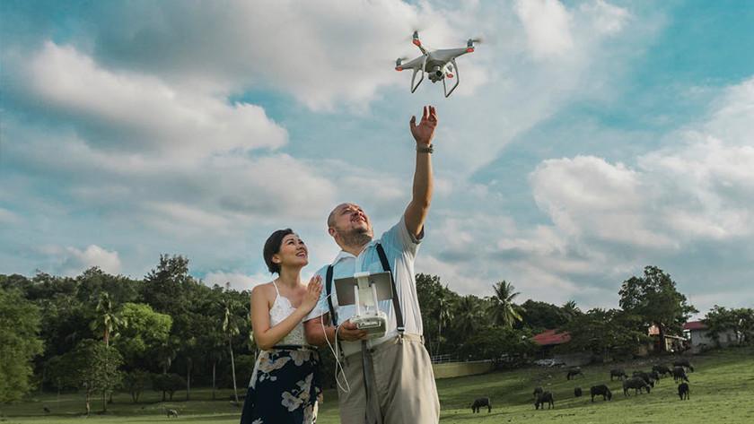 Drone vliegmodi tripod mode