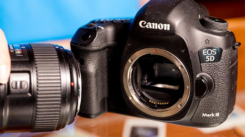 Vatting Canon spiegelreflexcamera's
