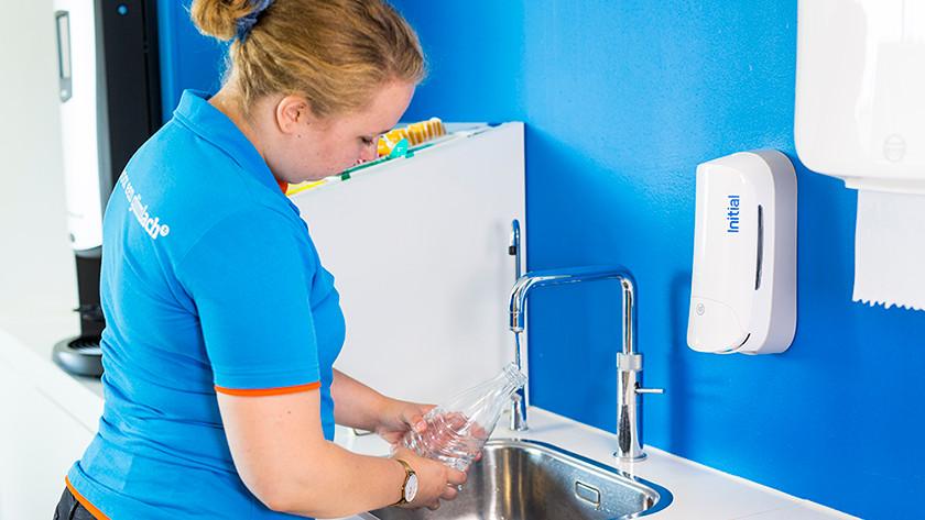SodaStream fles schoonmaken