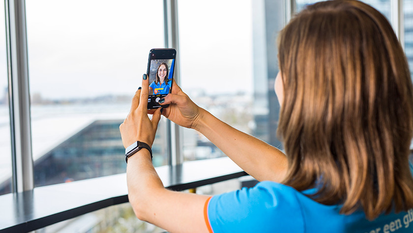 Selfie camera iPhone 11 Pro