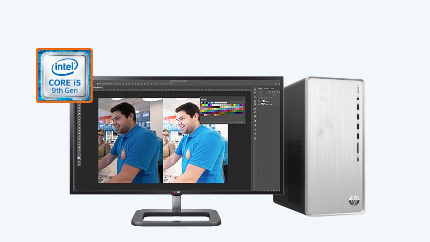HP Pavilion TP01 met Photoshop
