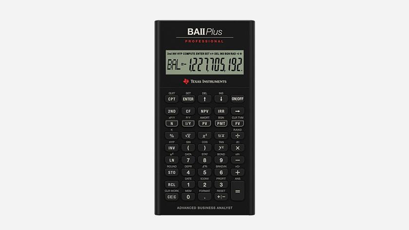 financiële rekenmachine