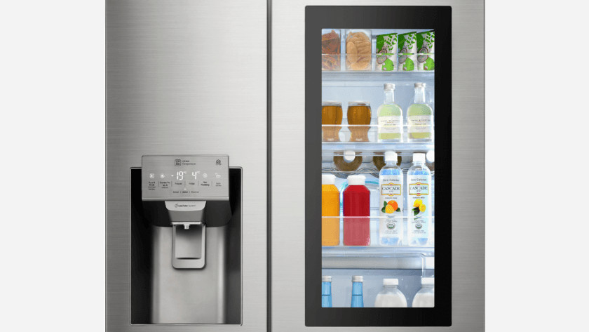 Energiebesparende koelkastdeur