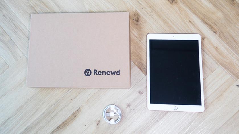 Refurbished iPad met accessoires