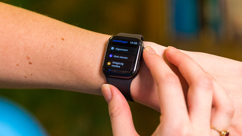 Open the Settings app on the Apple Watch and tap 'General'