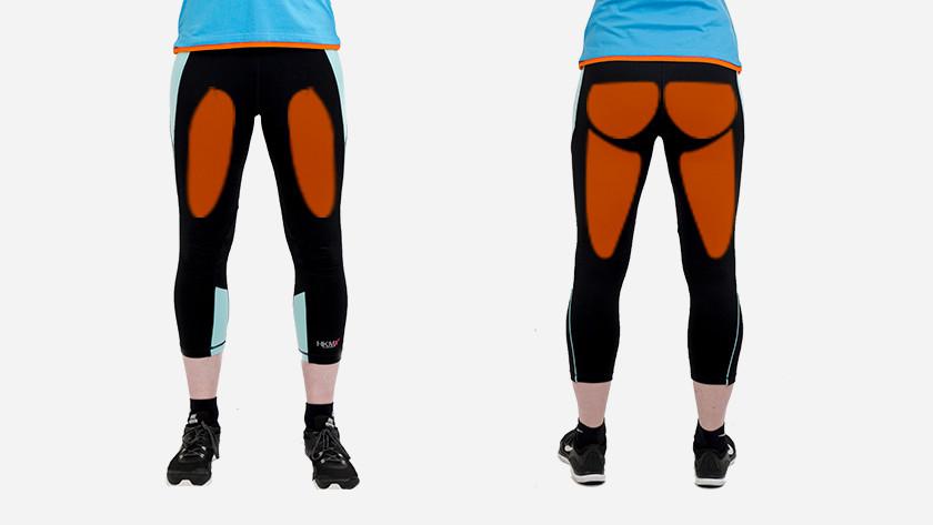 Muscles bosu ball alternating squats