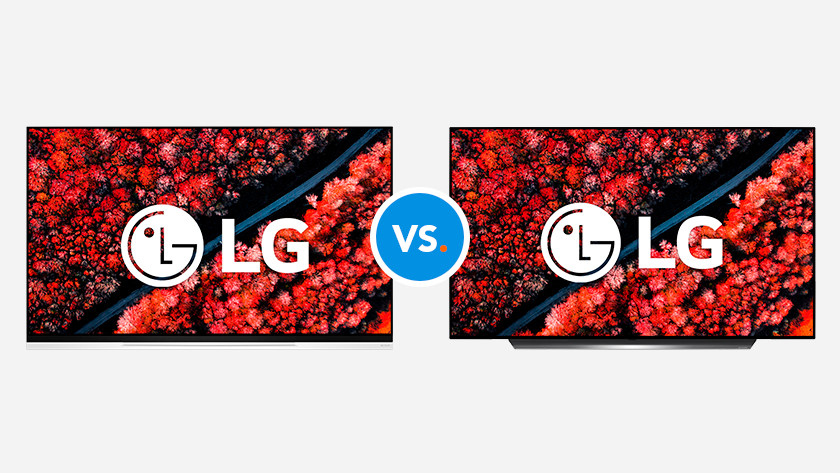 Compare LG televisions