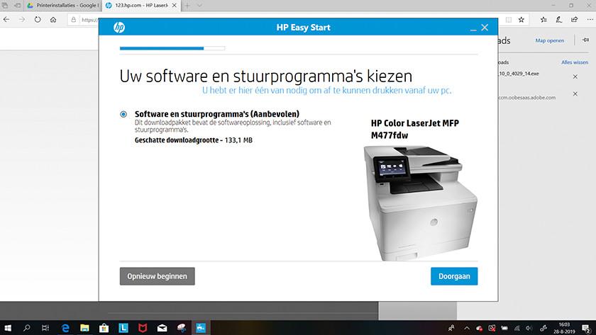 Software downloaden
