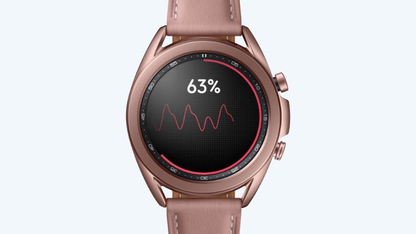 Bloeddruk meten Samsung Galaxy Watch3