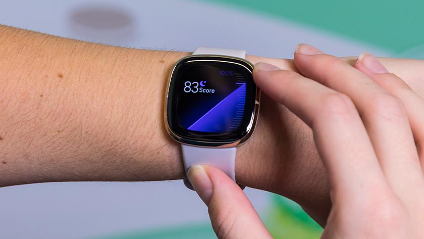 Fitbit Sense batterijduur en slaap meten