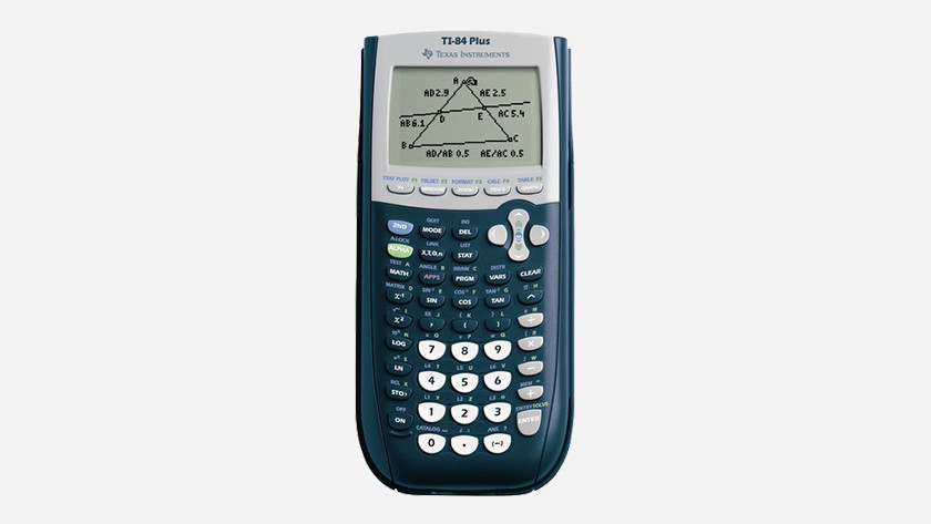 Calculator without color display