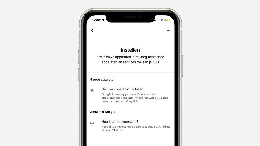 Set up more devices in Google Home