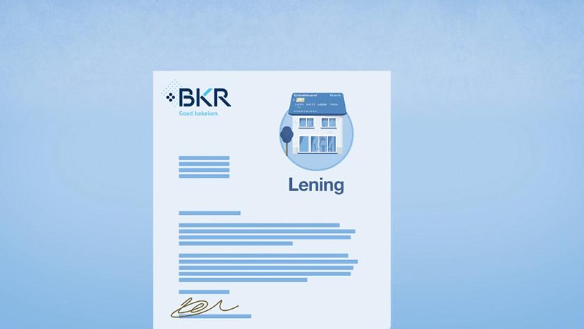 Positieve vs negatieve BKR registratie