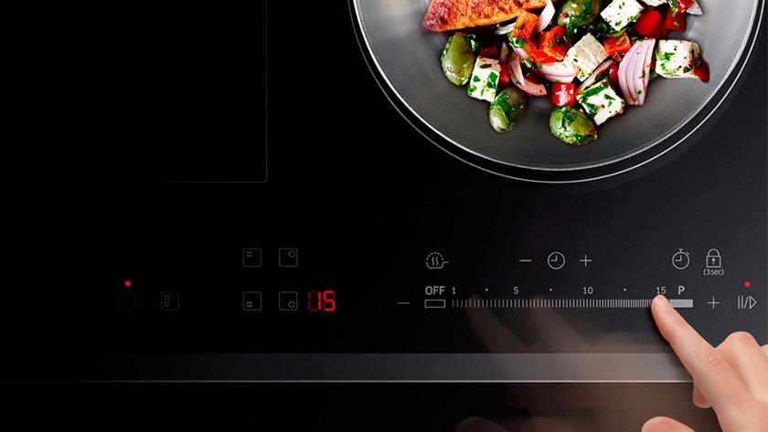 Touch systeem kookplaat