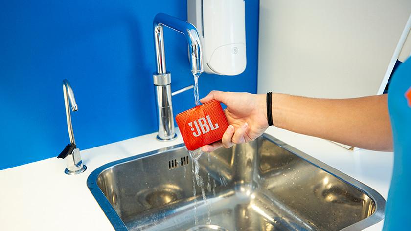 Test waterdichtheid