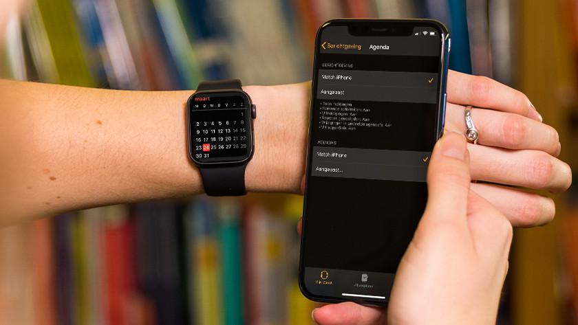 Apple Watch notifications calendar