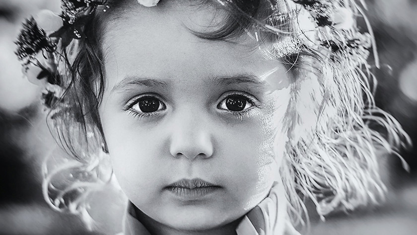 Zwart-wit foto's gebruiken