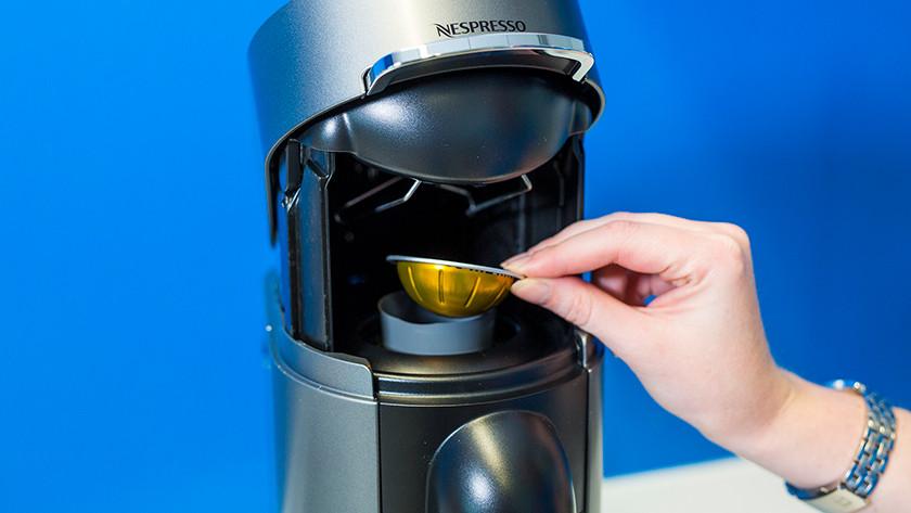 Control Nespresso Vertuo