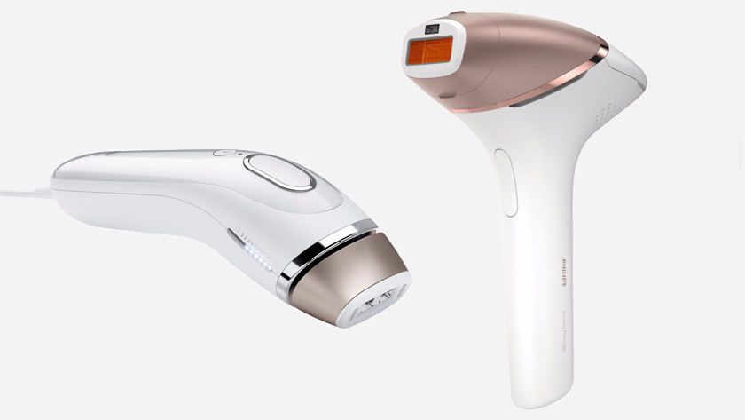 Braun Silk Expert and Philips Lumea