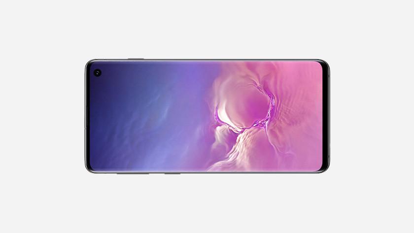 Samsung Galaxy S10 landschapsmodus