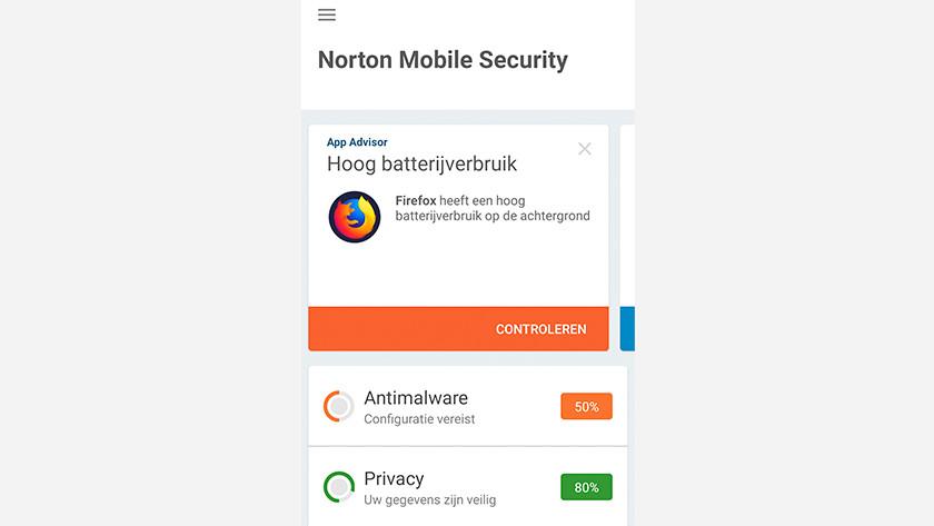 Norton installatie gereed