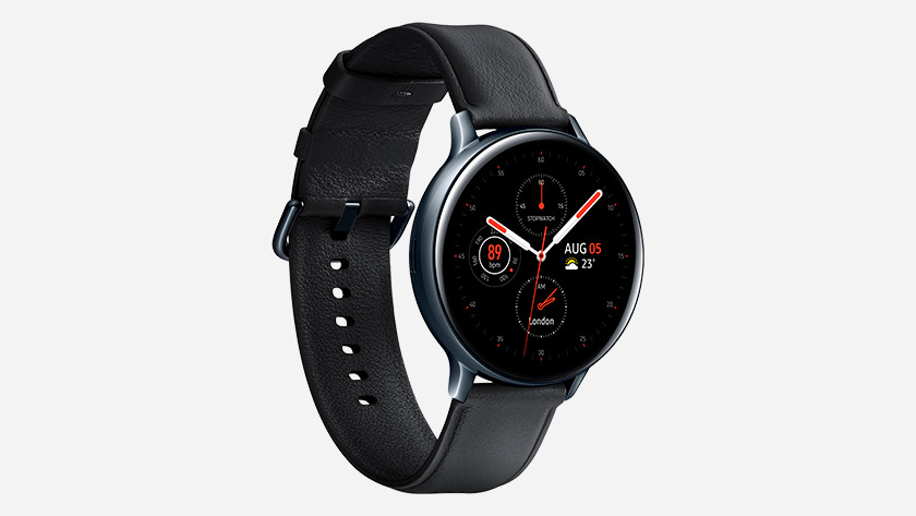 Linkerkant Samsung Galaxy Watch Active 2