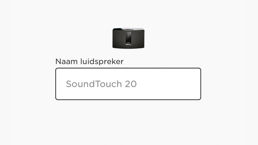 Step 8: give your speaker a name