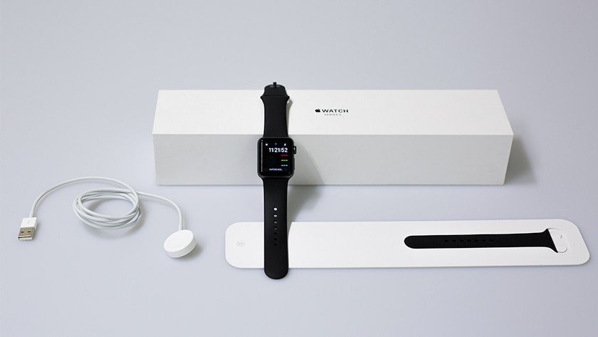 Unpacking the Apple Watch 3