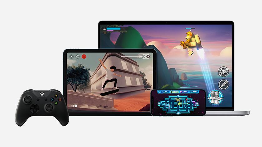 Apple Arcade op verschillende apparaten