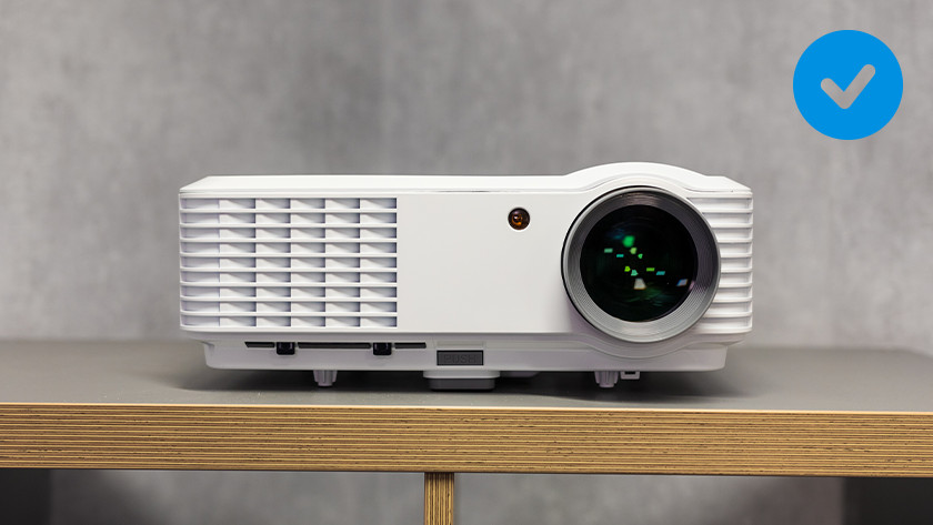 Keep a free space around the projector.