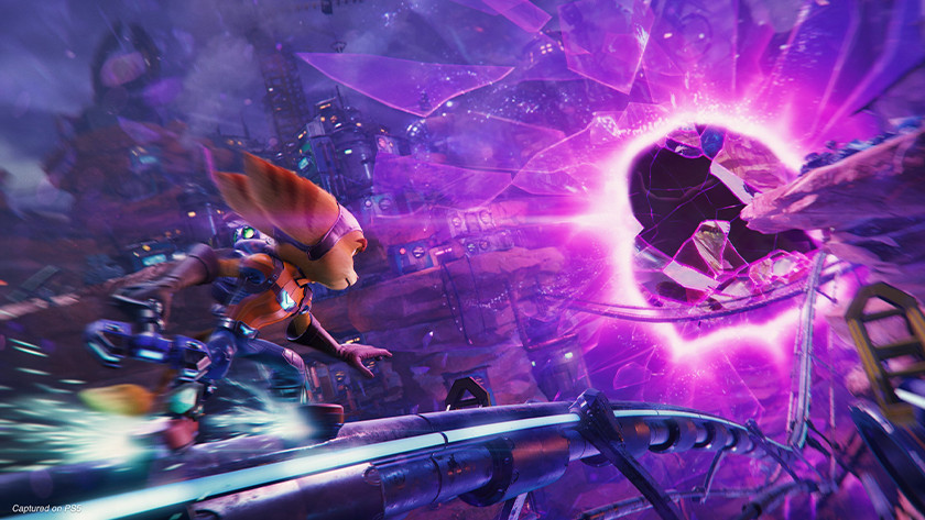 Ratchet and Clank: Rift Apart voor de PlayStation 5.