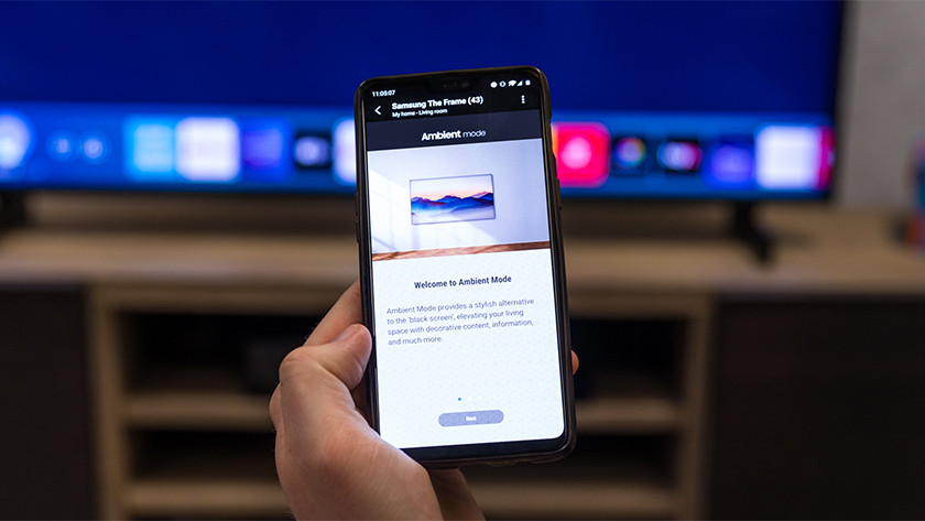 Samsung Ambient Mode smartphone