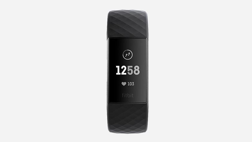 Fitbit charge 3 zwart scherm oplossen