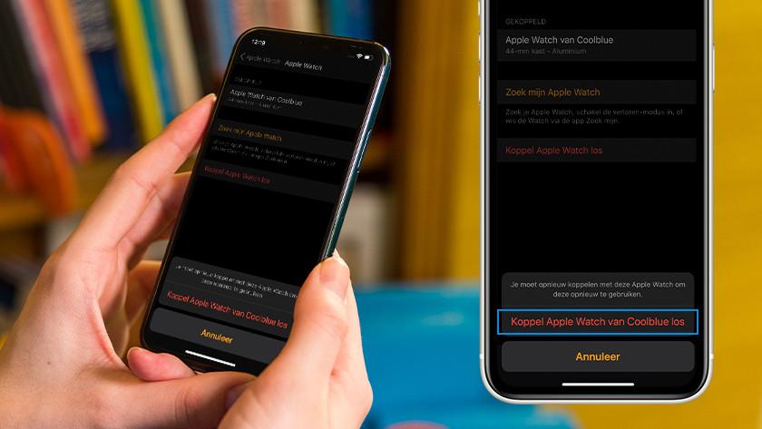 Tap 'Unpair Apple Watch' again