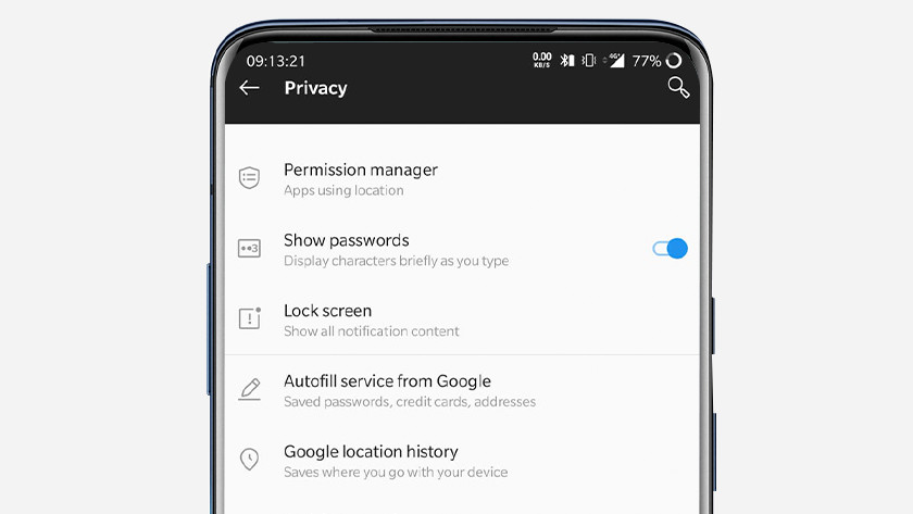 Android veiligheid