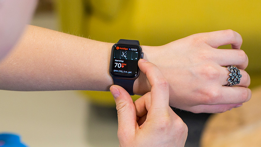 Heart rate functions Apple Watch Series 4