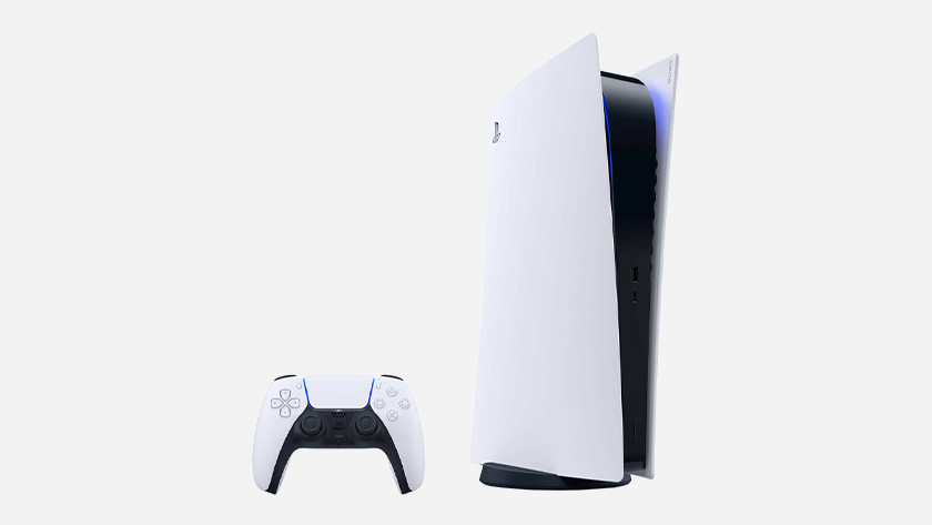 De PlayStation 5.