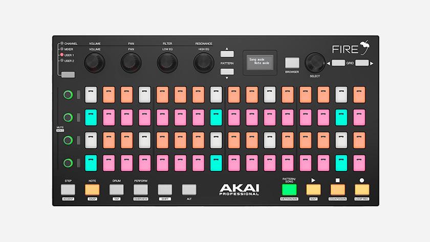 Akai Fire: melodie maken