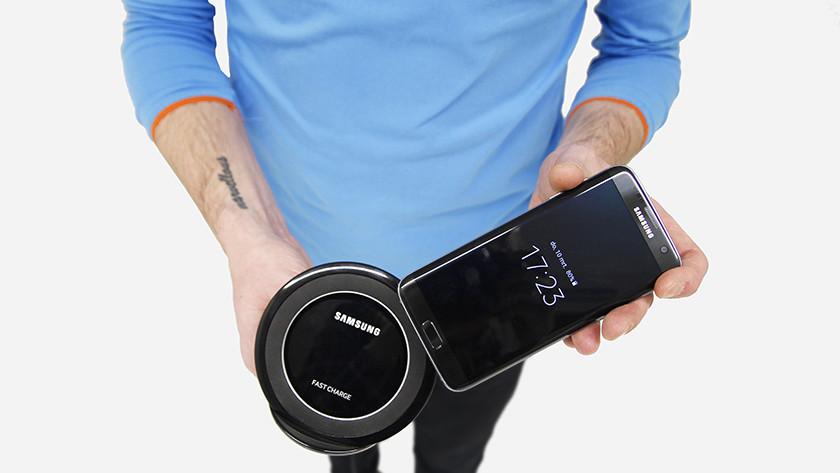 Draadloos laden Samsung Galaxy S7 Edge