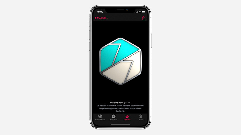 Medailles Apple Watch activiteit