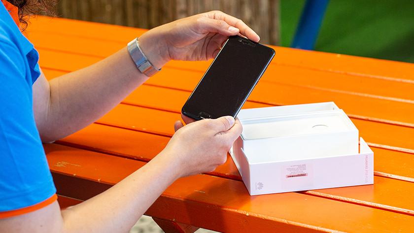 Verpakking telefoon