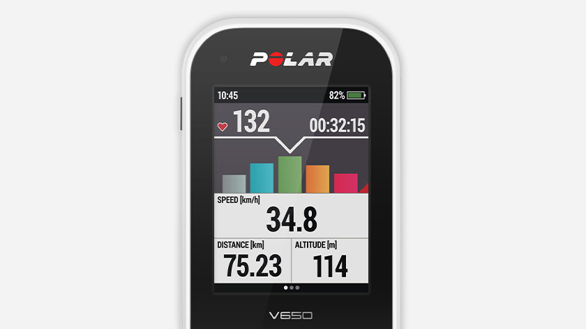 Bicycle navigation with altimeter