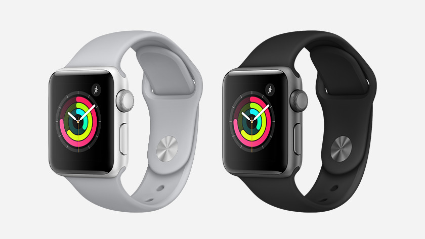 Apple Watch Series 3 kleuren