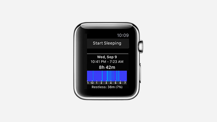 Slaap meten met Apple Watch